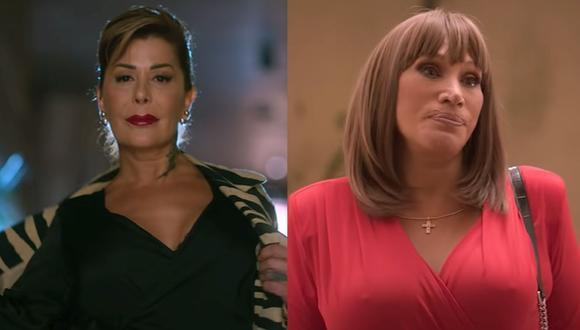 """Alejandra Guzmán y Laura León se sumaron a la segunda temporada de """"El juego de las llaves"""". (Foto: Captura)"""