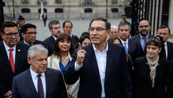 El presidente Martín Vizcarra también es aprobado por más del 60 % de la población, según las últimas encuestas. (Foto: AFP)