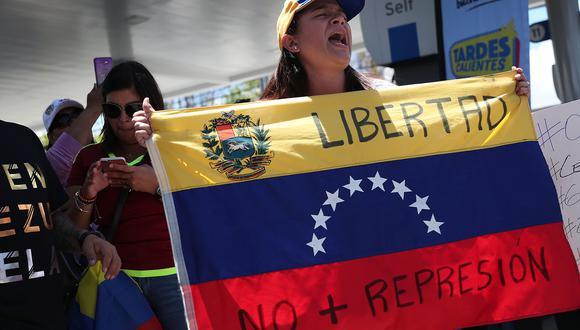 """Rusia acusa a oposición venezolana de """"alimentar"""" el conflicto y apela a negociar. Foto: AFP"""