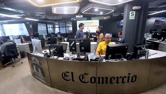 Desde la Mesa Central de Editores se dirige la creación y la distribución del contenido en el diario. (Foto: Alessandro Currarino)