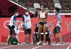 Tokio 2020: atleta británica se lesiona en plena carrera, rechaza ayuda médica y llega cojeando a la meta