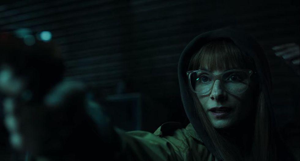 Cuando todo parecía mejorar, Alicia Sierra dio con la ubicación del Profesor (Foto: La casa de papel / Netflix)