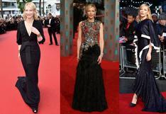 Cate Blanchett y la moda sostenible: estos son looks 'repetidos' que llevó en el Festival de Venecia   FOTOS