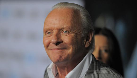 "Anthony Hopkins ganó el Bafta a Mejor actor por ""The Father"". (Foto: Joe KLAMAR / AFP)"