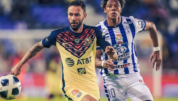 Pachuca recibió a América por el Apertura 2021 de México | Foto: @ClubAmerica