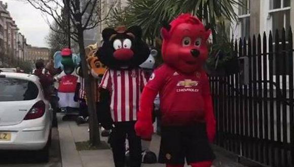 En YouTube viene circulando un video donde aparecen más de 30 mascotas de la Premier League. (Foto: BBC).