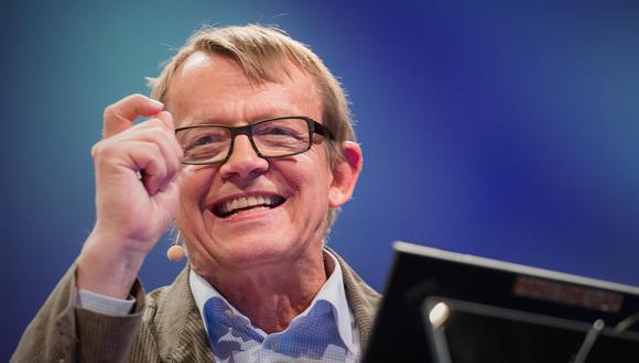 Ironías de la vida, Hans Rosling partió a los 68 años, en plena etapa productiva, y a quince años de distancia de la esperanza de vida promedio en Suecia (una de sus variables favoritas de ilustración).