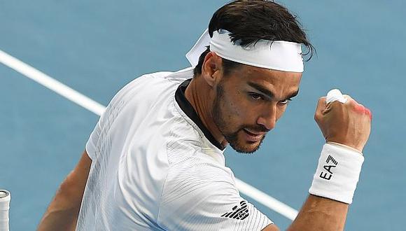Fabio Fognini ocupa el puesto 11 en el ranking mundial de la ATP. (Foto: AFP)