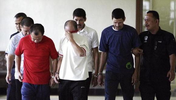 El 4 de marzo del 2008, los hermanos Simón, Luis Alfonso y José Regino González Villarreal, originarios del estado de Sinaloa, fueron detenidos en el estado de Johor, Malasia. (Foto: EFE)