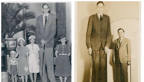 La triste y breve vida de Robert Wadlow, el hombre más alto de la historia. (Foto: Flickr | Dominio Público)