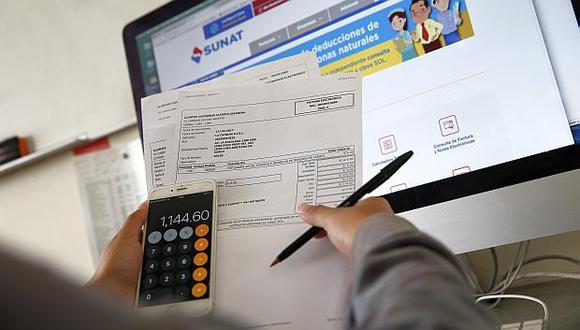 La recaudación del Impuesto a la Renta se incrementó en 3.2% al sumar S/2,881 millones en octubre. (Foto: USI)