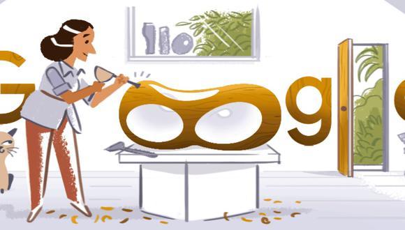 Este doodle, además de ser visible en el Reino Unido, alcanza a casi todo América Latina, Estados Unidos, y países de Asia, Europa y Oceanía. (Captura/Google)