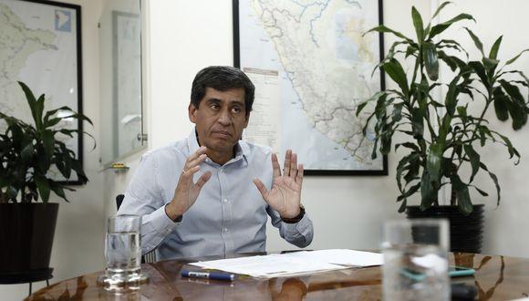 Lozada señaló que la ley aprobada por el Congreso va en contra de las políticas del gobierno (Foto: Leandro Britto)