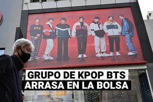 La productora musical del grupo coreano BTS debuta en la bolsa de valores