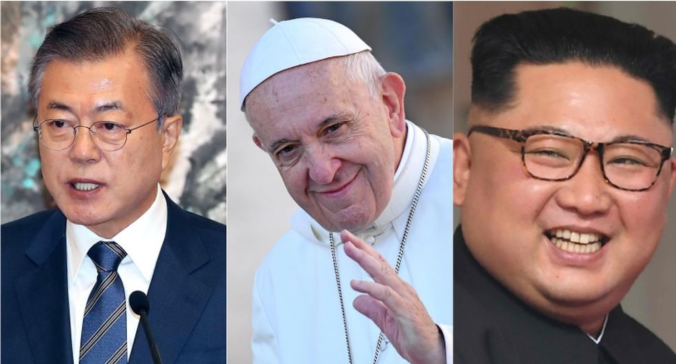 Francisco recibirá en audiencia en el Vaticano a Moon Jae-in el 18 de octubre. | Foto: EFE / AFP