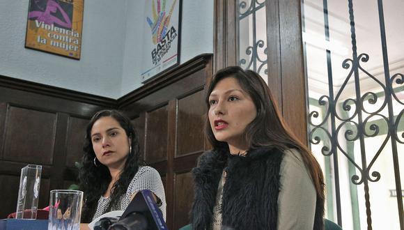 Arlette Contreras fue víctima de tentativa de feminicidio y su caso fue uno de los que motivó el inicio de las marcas Ni Una Menos. (Foto: Andina)