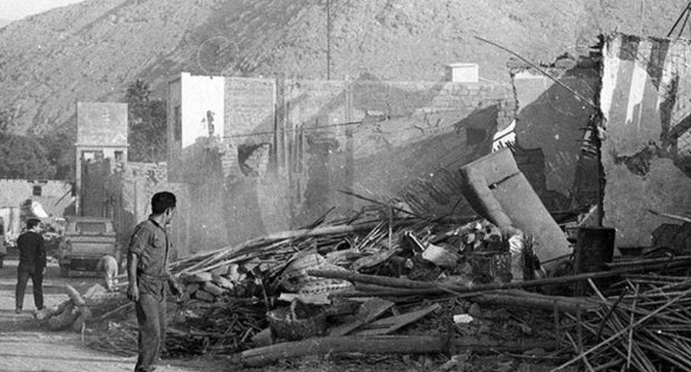 31 de mayo de 1970: A las 03:23 p.m., un terremoto de magnitud 7.8 y un gran aluvión se registró en el Callejón de Huaylas (Áncash). Este movimiento telúrico dejó como saldo 67 mil muertos y 150 mil heridos. (Foto: archivo de El Comercio)