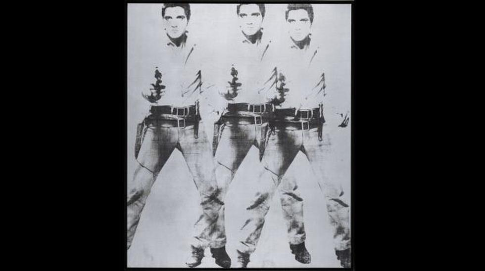 Andy Warhol: subastan obras sobre Elvis Presley y Marlon Brando - 2
