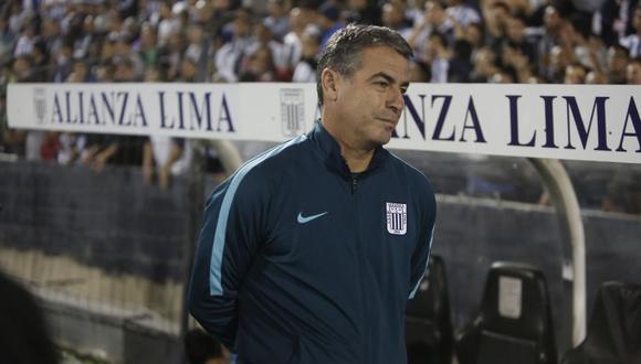 Pablo Bengoechea obtuvo un título y dos subtítulos con Alianza Lima   Foto: Cesar Campos/GEC