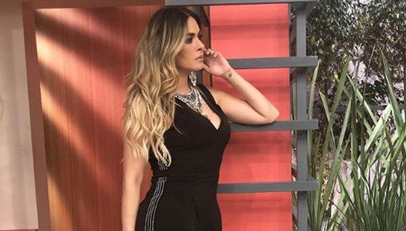 """Galilea Montijo en uno de sus programas de """"Hoy"""" (Foto: Instagram)"""