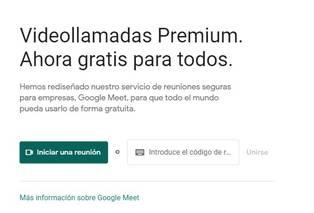 Te explicamos cómo realizar una videollamada en Google Meet | Google