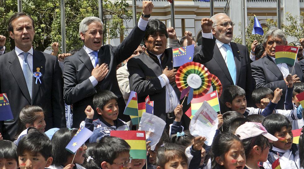 Bolivia - Chile: Así celebró Evo Morales el fallo de La Haya - 7