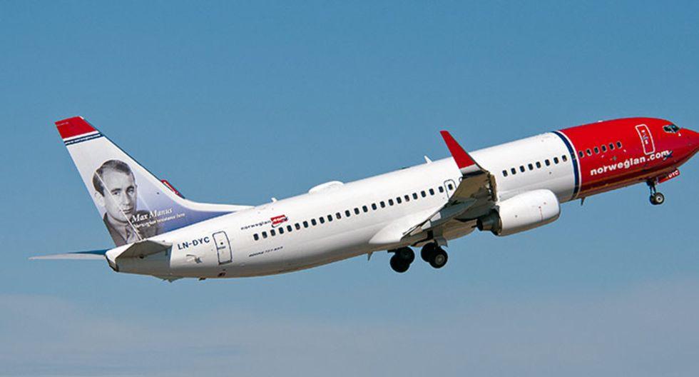 El primer lugar de las mejores aerolíneas low cost de Europa lo ocupó Norwegian