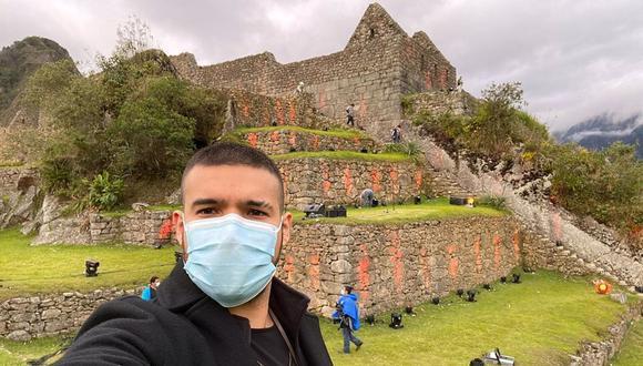 Ezio Oliva se pronuncia tras su presentación en la ciudadela de Machu Picchu. (Foto: @ezioliva)