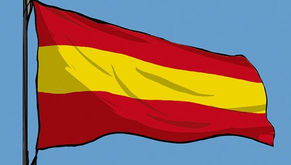 """""""Alfonso XIII es uno de los monarcas más populares de Europa"""". (Ilustración: Giovanni Tazza)."""