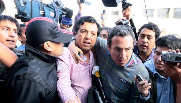 Miembros de Gobierno Regional de Áncash visitan a gerente preso