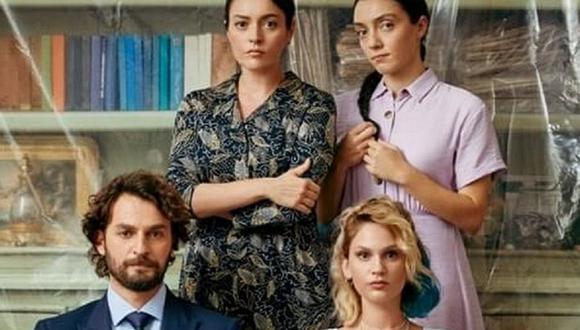 """""""Almas heridas"""" fue producida por OGM Pictures y escrita por Deniz Madanoğlu y Rana Mamatlıoğlu (Foto: TRT 1)"""
