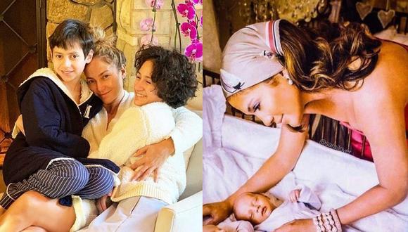 Emme y Max, sus hijos con Marc Anthony, son las personas más importantes en la vida de Jennifer Lopez. (Foto: @jlo / Instagram)