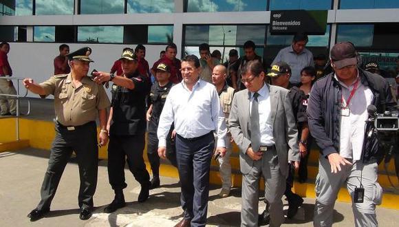 Crimen de fiscal: viceministro del Interior llegó a Moyobamba