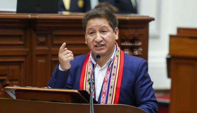 Guido Bellido expresó su disposición para nacionalizar los lotes del gas de Camisea. (Foto:  Britanie Arroyo / @photo.gec)