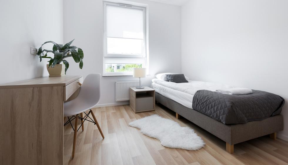 Sigue estos tips e incorpora los objetos necesarios a tu cuarto pequeño y obtén así una mejor distribución. (Foto: Michael Chen Architecture)