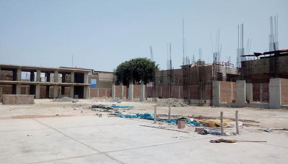 Juan Carlos Morillo, gobernador regional de Áncash, dijo que hay un presupuesto de S/4,3 millones para terminar los trabajos de construcción. (Foto: Laura Urbina)