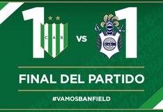 Gimnasia de La Plata empató 1-1 frente a Banfield por la jornada 15 de la Superliga Argentina