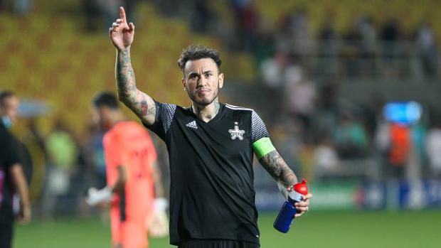 Gustavo Dulanto ha giocato tutte e otto le partite dello Sceriffo di Tiraspol per raggiungere la fase a gironi della UEFA Champions League.  (Foto: Sceriffo Tiraspol)