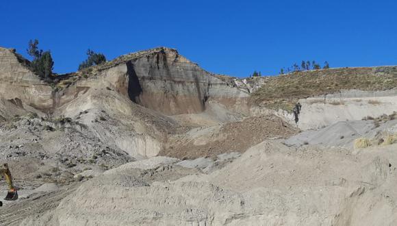 Arequipa: el Ingemmet señaló que este tipo de eventos continuarán presentándose en la zona y a lo largo del valle del Colca. (Foto: Ingemmet)