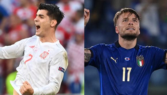 Mira aquí los partidos de hoy y revisa la programación de TV para ver la Eurocopa 2021 y la Copa América 2021 (Fotos: AFP)