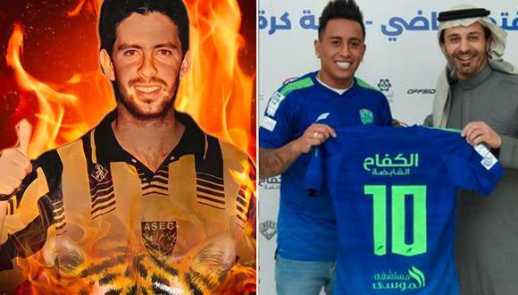 'Puchungo' Yáñez fue figura en el Ittihad FC de la primera división árabe habló sobre Christian Cueva y llenó de elogios a André Carrillo. (Foto: Facebook).