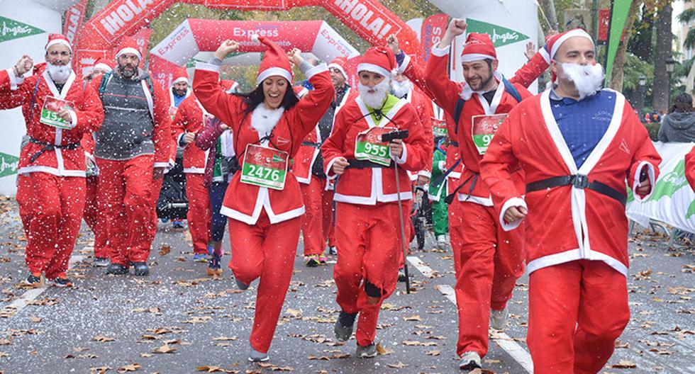 Revisa la carrera navideña que esté más cerca a ti y disfruta corriendo en esta época del año.