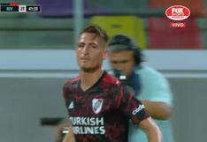 River vs. Central Córdoba: Braian Romero convirtió el 3-1 del 'Millo' casi sin querer | VIDEO