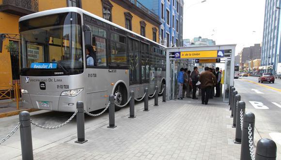 El Metropolitano operará con 30% más de buses que otros domingos y tendrá un horario de 5:15 a.m. a 10 p.m. (Foto: GEC)