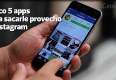 Cinco apps para sacarle máximo provecho a tu Instagram