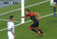 Lo goza Melgar: Bordacahar anota el 1-0 ante Paranaense | VIDEO