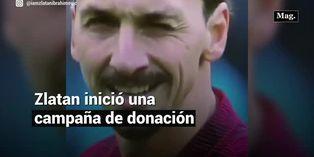 Zlatan Ibrahimovic y su campaña para combatir el coronavirus
