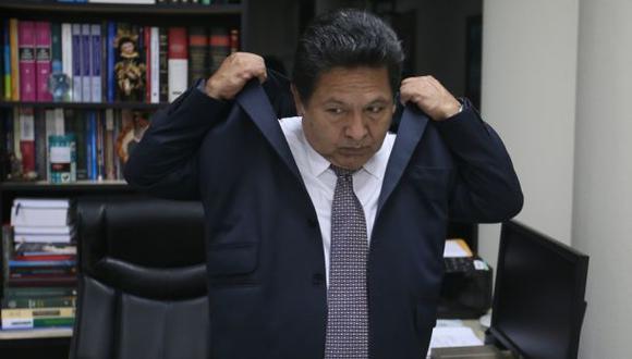 Caso del fiscal Ramos Heredia en manos del CNM, Congreso y TC