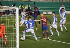 Barcelona venció por penales a Real Sociedad y accedió a la final de la Supercopa de España