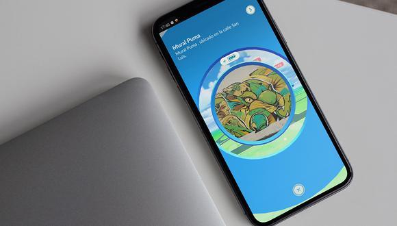 Conoce cómo activar las nuevas tareas mediante escaneo de una Poképarada en Pokémon GO. (Foto: Mock up)